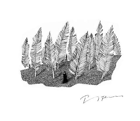 Zeichnung: Paul Flora