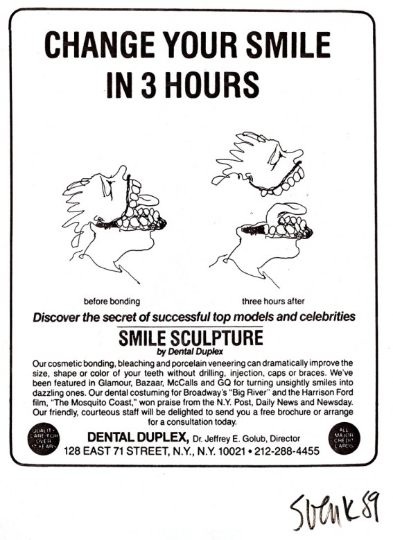 smile sculpture