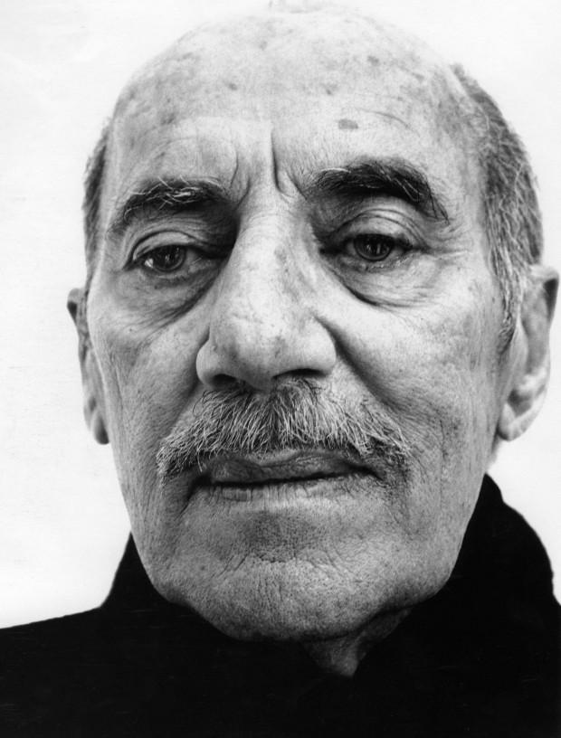 Groucho Marx mit 85. Foto von Richard Avedon.