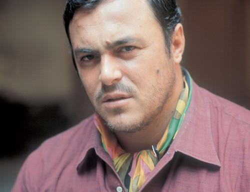 Pavarotti in color
